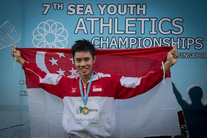 Ng Chin Hui 400m SEA Youth Track and Field Championships