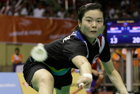 Fu Mingtian Sportswoman of the Year