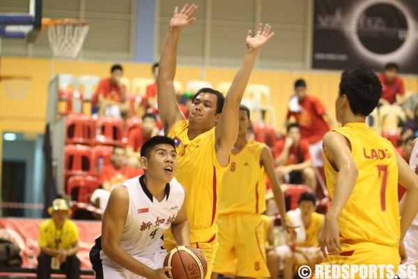 SEABA U18 Singapore vs Laos