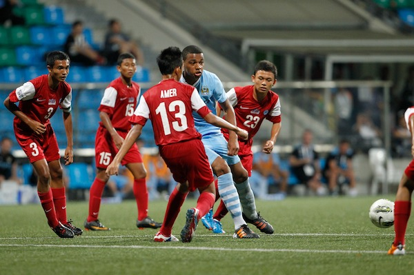 Singapore U15s vs Manchester City U15s Lion City Cup