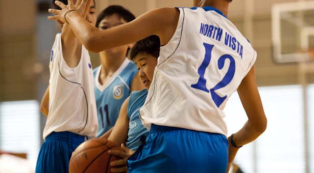 North Zone C Div Bball: North Vista trample over Woodlands 123-6