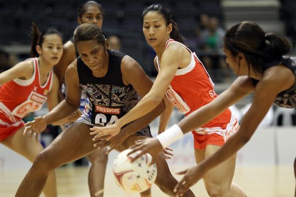 Jean Ng Singapore vs Fiji WNC