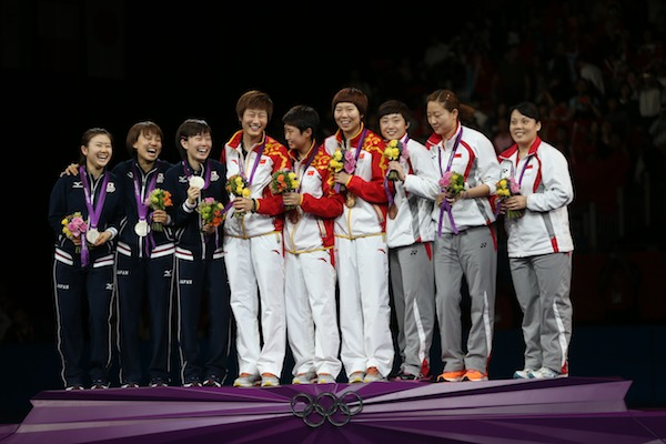 Olympic table tennis singapore beat south korea 3 0 to - British basketball league table ...