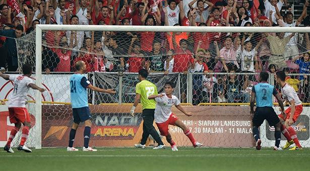 M'sia Cup Semi-Final (1st Leg): LionsXII salvage 1-1 draw with ATM via Safuwan header