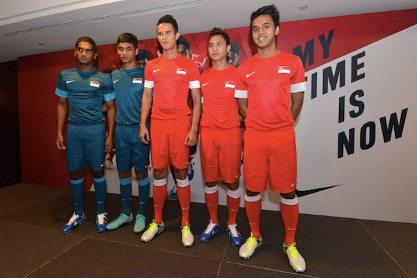 singapore national football team playing kit