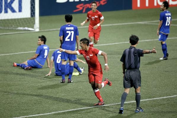 singapore vs thailand suzuki cup final