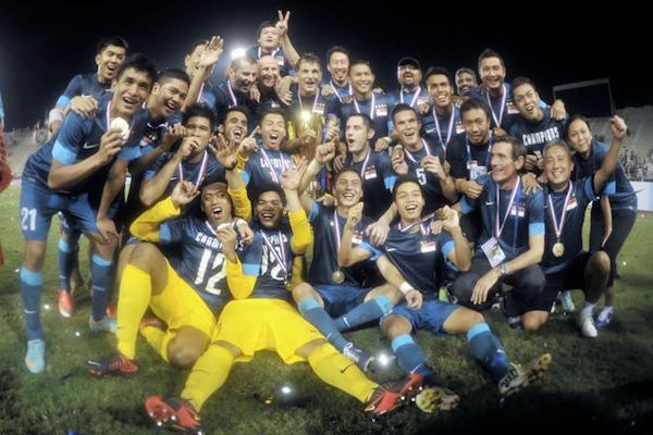 singapore suzuki cup asean football champions