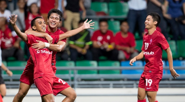 MSL: LionsXII thrash Pahang 3-0 to remain unbeaten at home