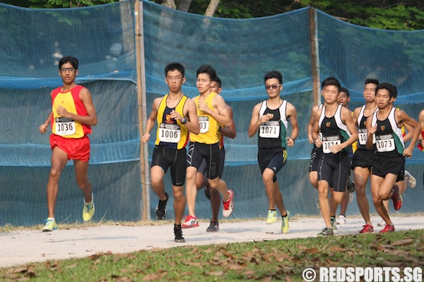 a boys cross country karthic