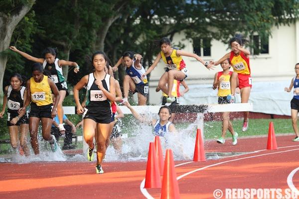 a div girls 2000m steeplechase final