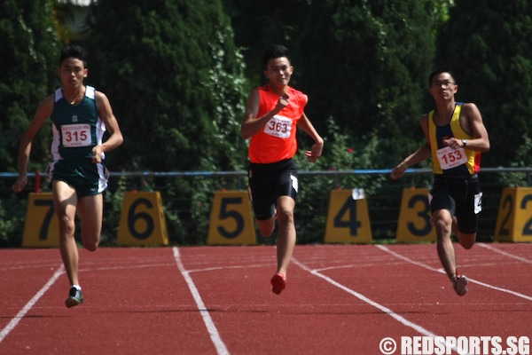 B div 200m timothy ong of acs i wins gold in top 3 finish within of each other - Div within a div ...