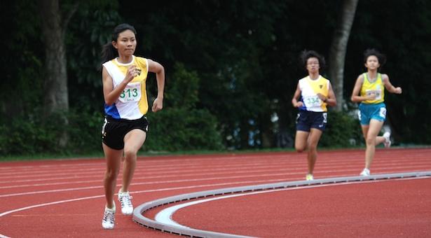 C Div 1,500m: Arissa Rashid of Nanyang Girls' wins first gold in 5:22