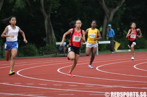 c div girls 400m