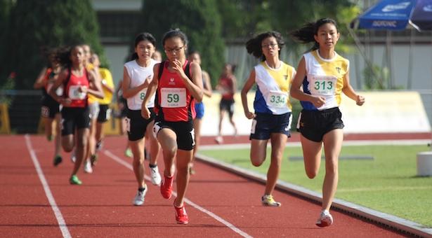 C Div 800m: Arissa Rashid of Nanyang Girls' High wins gold in 2:35.85