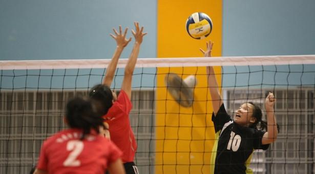 B Div Vball (Girls): Fairfield hand Nanyang Girls' first defeat