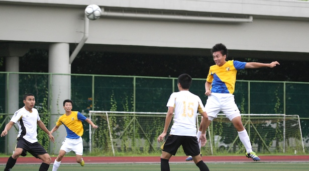 A Div Football (Boys): ACJC hold VJC to 0–0 draw to top group