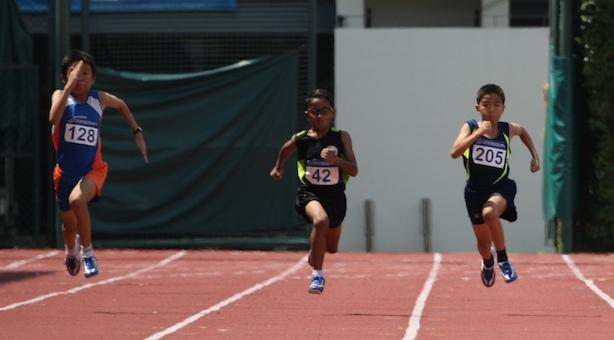 Pri D Boys' 100m: Shahiran of Greenwood Primary wins gold in 14.51s