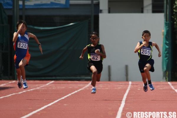 d boys 100m final