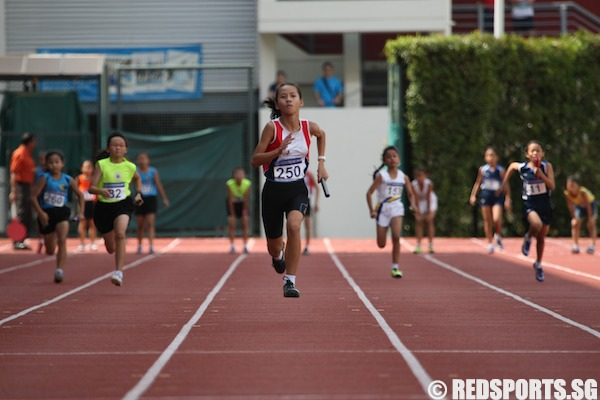 d girls 4x100m relay final