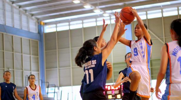 North Zone C Div Bball (Girls): Woodgrove defeat Naval Base 30–10 to advance to second round