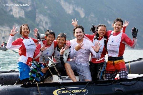 singapore optimist world team champions