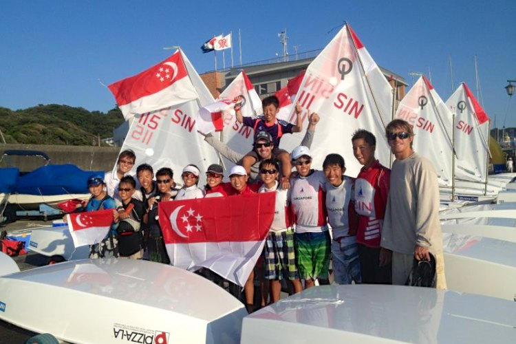singapore optimist team racing asian champs