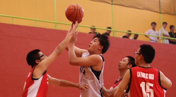 South Zone C Div Bball: Peicai take down defending champs Catholic High 48–44 in semi-final thriller