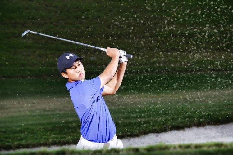 wong qi wen golf