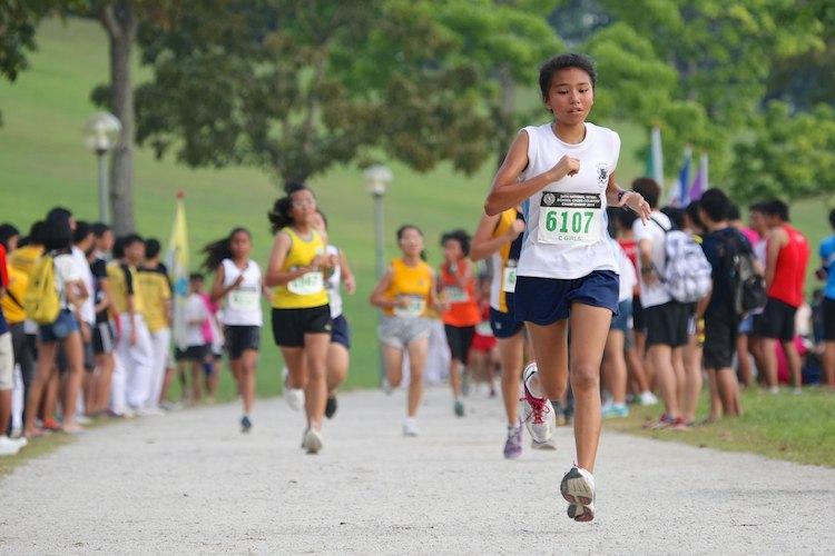 ippt 3.2km c girls cross country