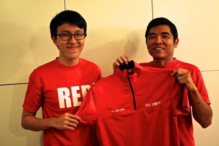 tay jun wen red crew graduation