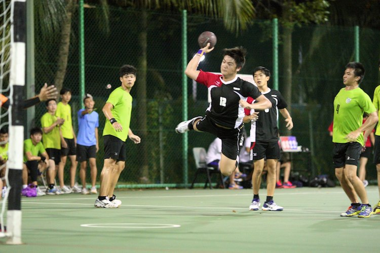 sp vs rp invitational handball games