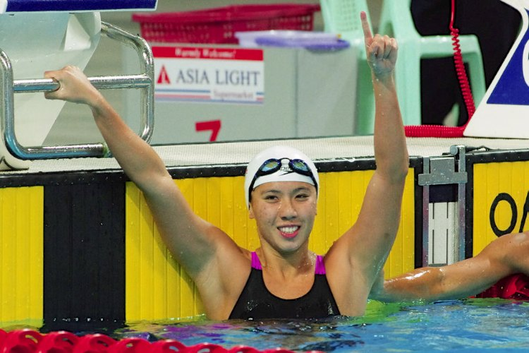 amanda lim 50m freestyle
