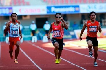 SEA Games Athletics: Amirudin wins 100m bronze in 10.55s