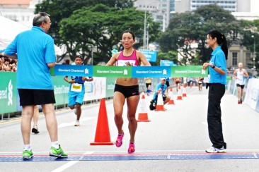 Marathon: Anne Qi Hui wins 5th title in 3:07:30; Mok Ying Rong finishes 2nd in 3:19:12