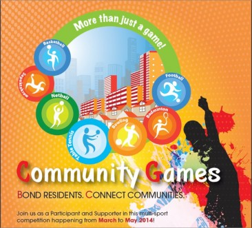 Community Games to be held from March to May 2014