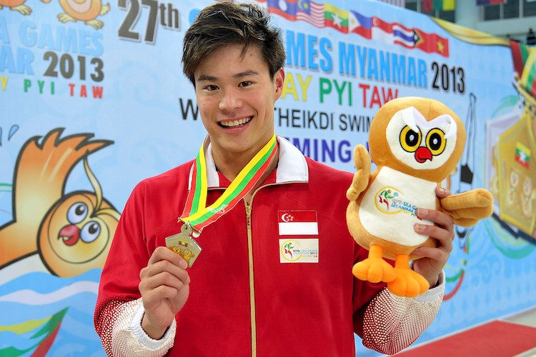 russell ong 50m freestyle sea games
