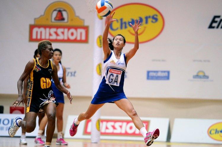 singapore vs papua new guinea netball nations cup