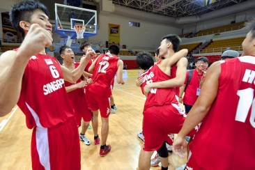 SEA Games Bball: Singapore beat Myanmar to win bronze, first bball medal since 1979