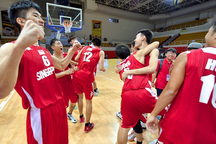 SEA Games Bball: Singapore beat Myanmar to win bronze, first bball.