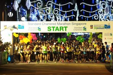 Marathon: Elite runners get 50s head start. Is this the norm around the world?