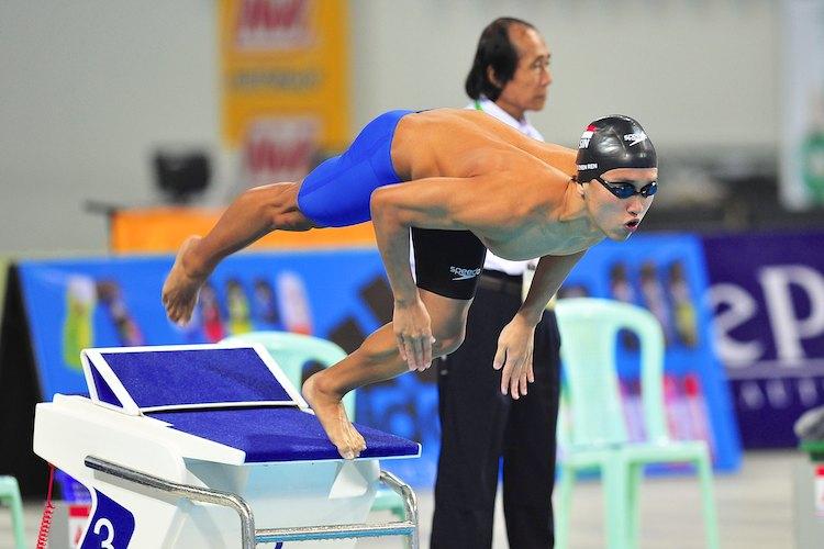 teo zhen ren 1500m freestyle sea games