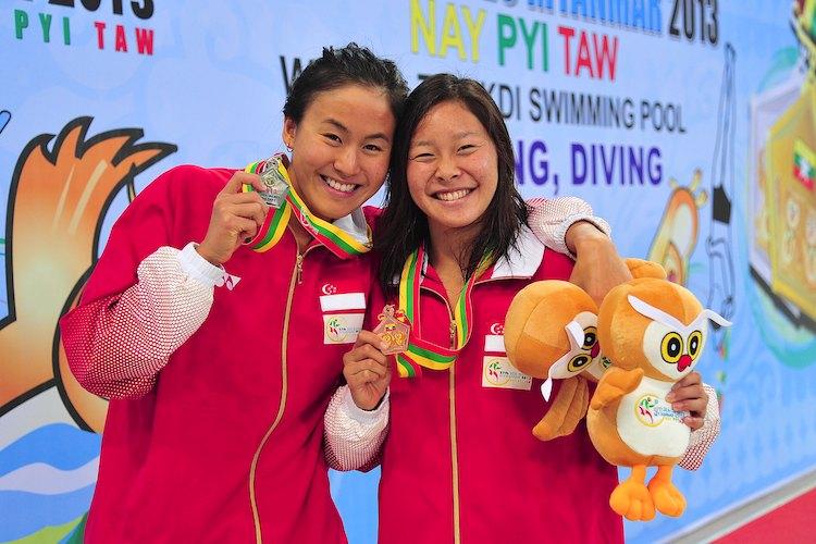 quah tingwen lynette lim 200m freestyle sea games