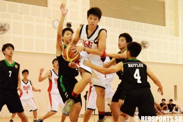 South Zone B Div Bball (Boys): RI log decisive 83–25 win over NJC