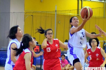 National B Div Basketball (Girls): Deyi lead from start to finish to beat Chung Cheng High (Main) 35–22