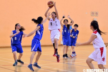 National B Div Bball (Girls): CHIJ (Toa Payoh) defeat Chung Cheng High (Main) 49–46