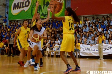 North Zone B Div Bball (Girls): Deyi defeat Yishun Town 50–29 to clinch championship