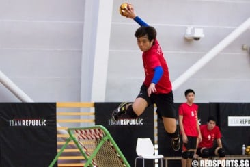 Tertiary Tchoukball 3rd/4th: ITE defeat NYP 26–21 to emerge third