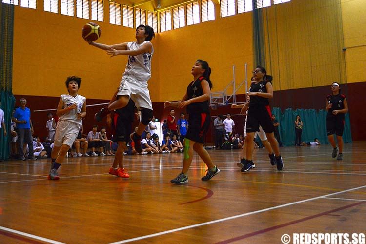B Division Girls Basketball CHIJ Toa Payoh vs Zhonghua Secondary School