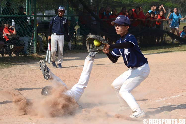 B Division Softball Catholic High School vs Anglo-Chinese School (Independent)