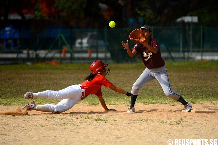 B Division Girls Softball Tanjong Katong Girls School vs River Valley High School